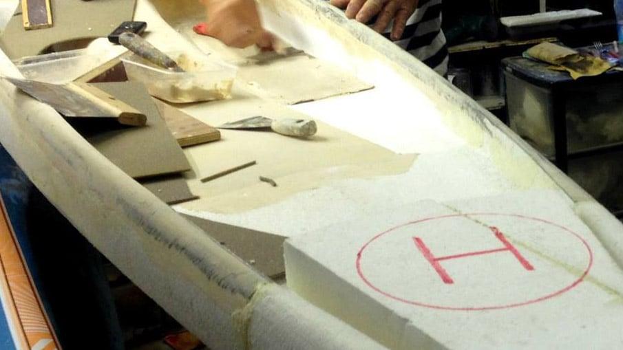 Une planche de stand up paddle pour Luc Besson