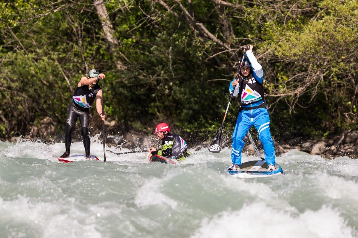 Du stand up paddle en eau vive à l'Outdoormix Festival