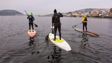 Sup Drobaq, le club de stand up paddle Norvégien