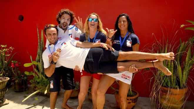 Titouan Puyo offre le bronze à la France en sup