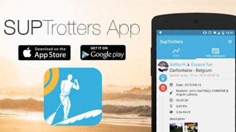 Une application mobile pour tracker vos sessions de Sup