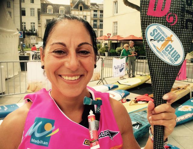 Gaétan Séné vient de remporter le Morbihan Paddle Trophy