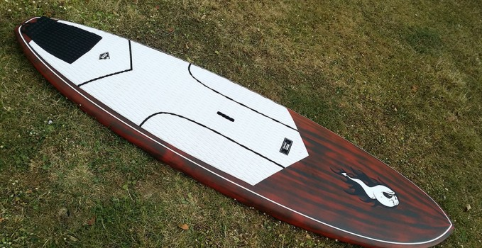 Le stand up paddle Gong Sup Xtr 8'0 Nfa Pro
