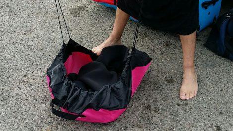 Le Change Bag ou Wetsuit Bag de chez Howzit