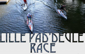 Course stand up paddle Lille Pad'Deule Race