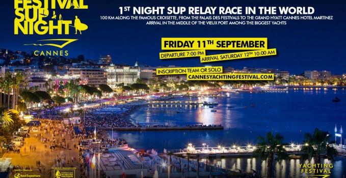 La Festival Sup Night, une course de stand up paddle de nuit