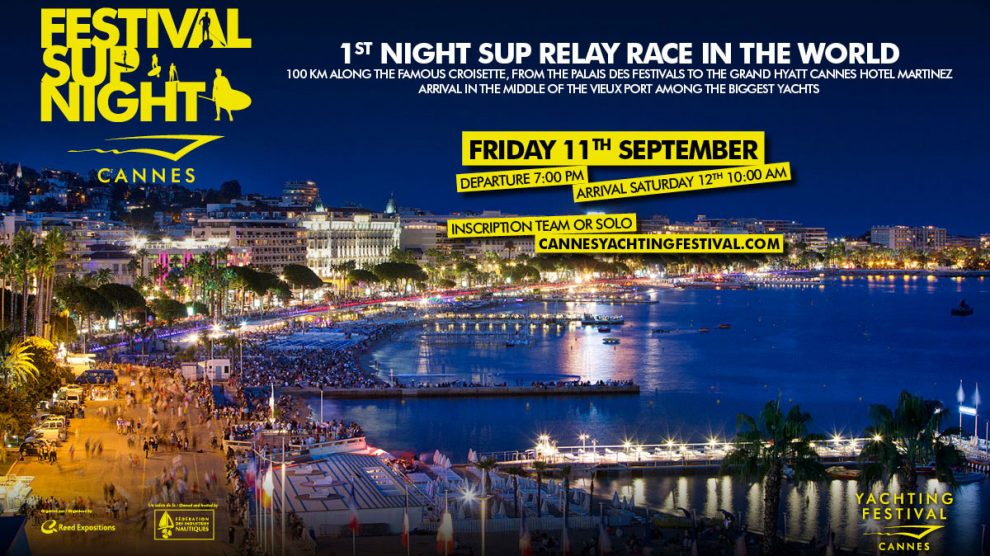 Le Festival Sup Night, une course de stand up paddle de nuit