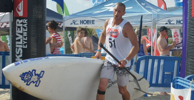 Nicolas Jarossay va traverser l'Atlantique en stand up paddle