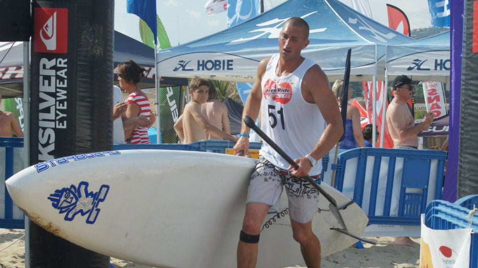 Nicolas Jarossay va traverser l'Atlantique en stand up paddle