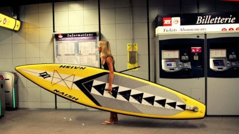 Portrait de Severine Vasselin, la Sup Addict de WaterTrek