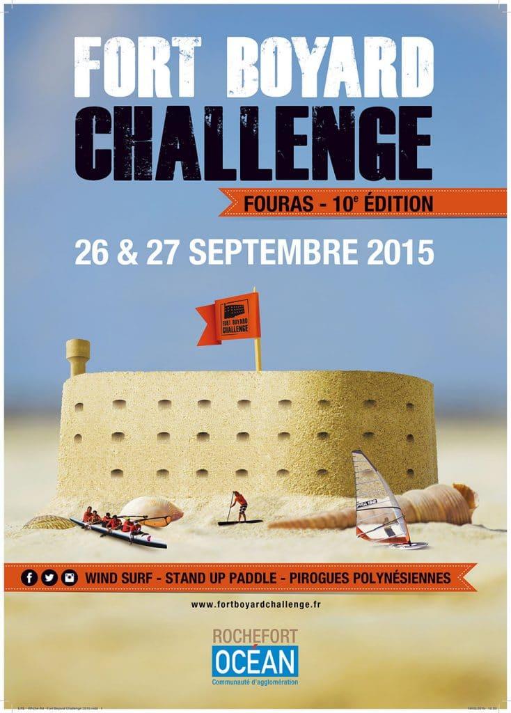Sup au Fort Boyard Challenge, des nouveautés en rafales