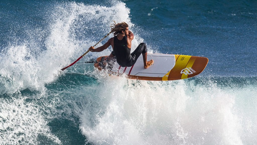Le stand up paddle surf Stubby LTD de chez Fanatic