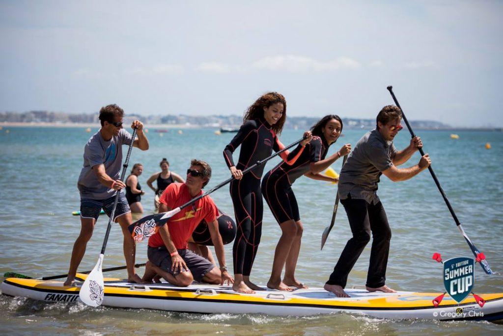 Trois Miss France En Stand Up Paddle 224 La Summer Cup De La