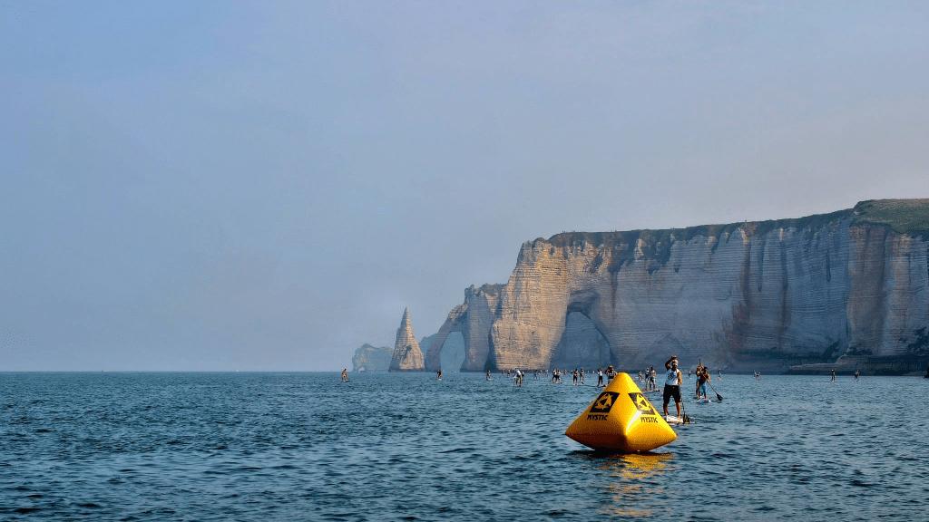 L'évènement normand, l'Etretat Paddle Beach du 13 septembre 2015