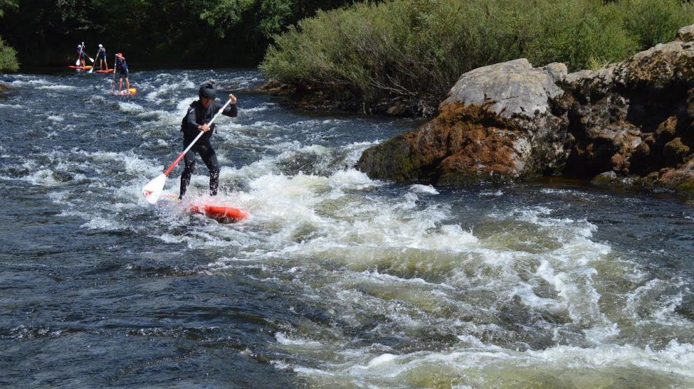 Dordogne Paddle Race 2015, du stand up paddle en eaux vives