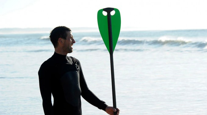 Hold up paddle, la pagaie stand up paddle double pale !