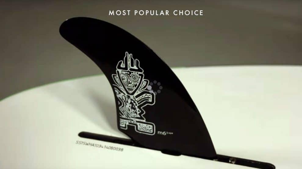 Positionner son aileron de stand up paddle sur une planche de race ?