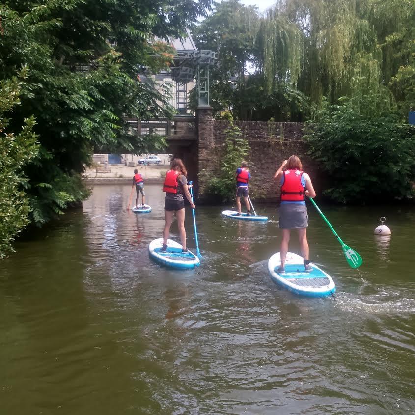 Découvrir Nantes à travers les balades en stand up paddle