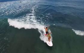 "Le nouveau sup Starboard Avanti 11'2"" x 36"" avec Zane Schweitzer"