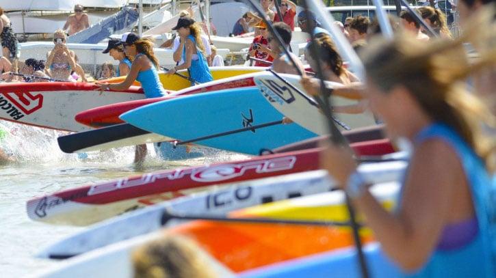 Les championnats de France de Sup Race à Sainte-Maxime