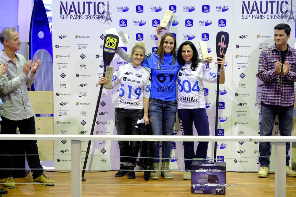 Le classement du Nautic Paris Sup Crossing 2015 femme pro