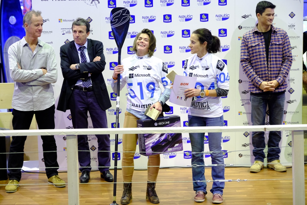 Le classement du Nautic Paris Sup Crossing 2015 femme