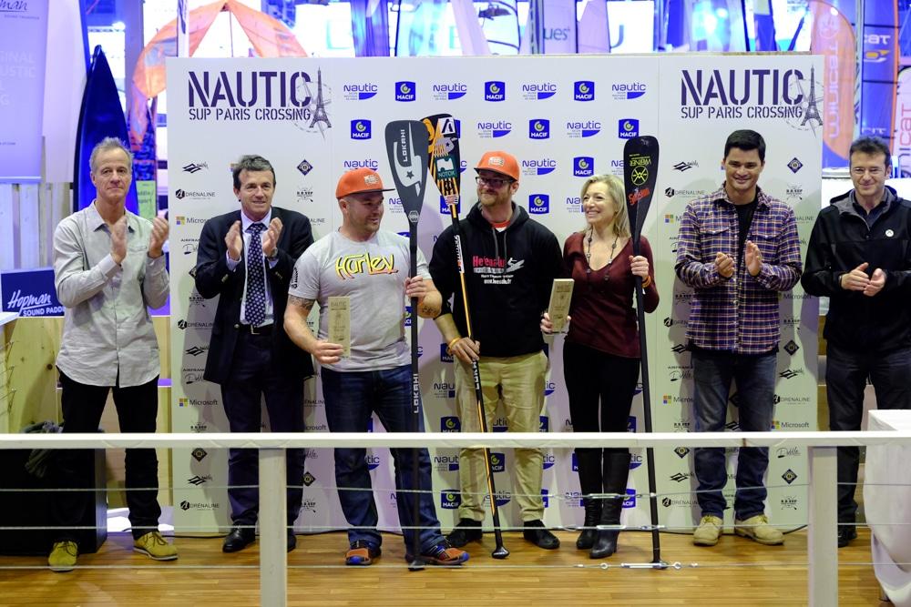 Le classement du Nautic Paris Sup Crossing 2015 handi sup