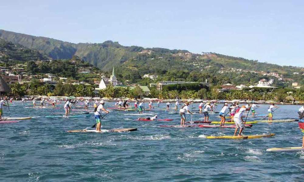 Tahiti élue meilleure destination stand up paddle !