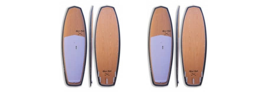 minimal stand up paddle redwood paddle