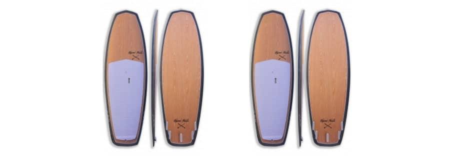 minimal stand up paddle redwood paddle