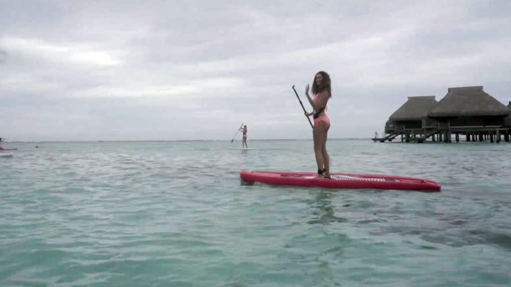 Des Miss, des stand up paddle et du fun à Tahiti