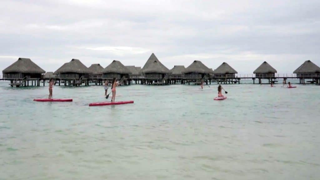 Des Miss, des stand up paddle et du fun à Tahiti