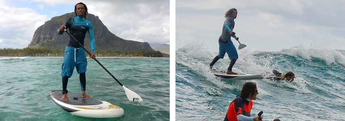 Pendleboard, un stand up paddle semi-rigide
