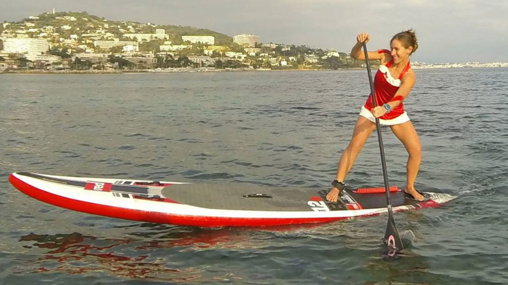 Des pères Noël et des stand up paddle en photos et en vidéos