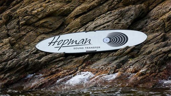 Hopman Sound Transfert, stand up paddle avec enceintes
