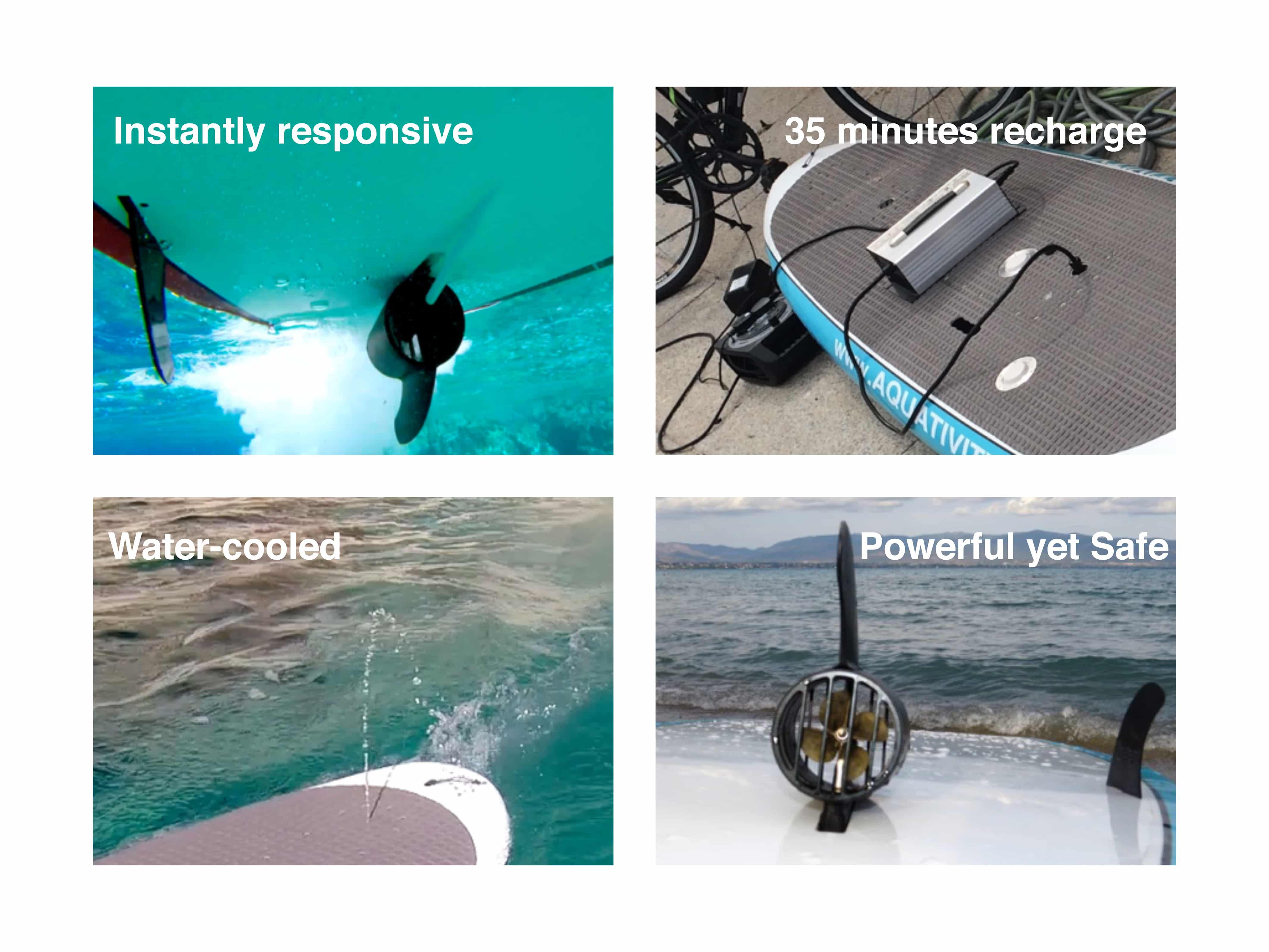 Power Boards de Aquativity, un sup assisté à moteur électrique