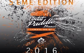 etretat paddle beach 2016