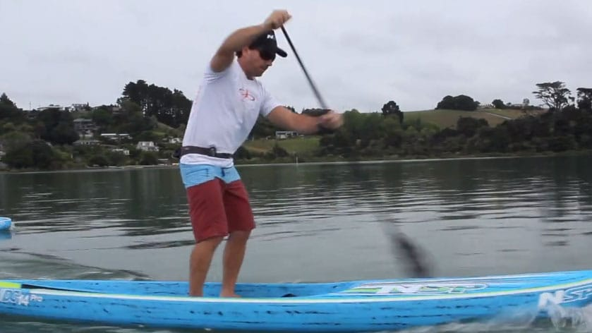 Travis Grant Sup Training Camp en Nouvelle-Zélande