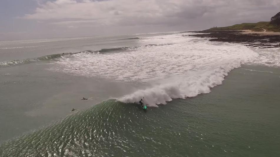 Vidéo de stand up paddle en Nouvelle-Zélande