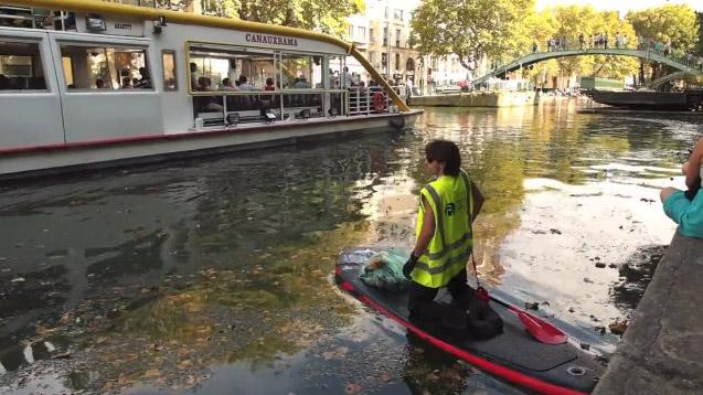 Journée de mobilisation Initiative Océanes à la Vilette