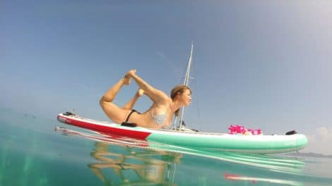 Stand up paddle fitness et Yoga avec Sarah Hébert