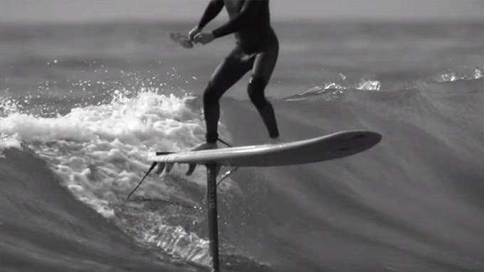 SupFoil ou comment surfer en lévitation au-dessus de l'eau