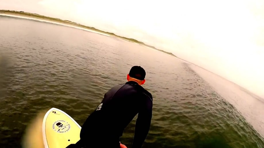 Vidéo de stand up paddle Ocean Dwellers