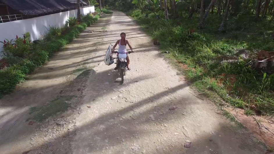 Vidéo stand up paddle aux Philippines, Salamat Siargao