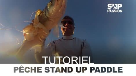 Tutoriel vidéo, pêcher le bar en stand up paddle