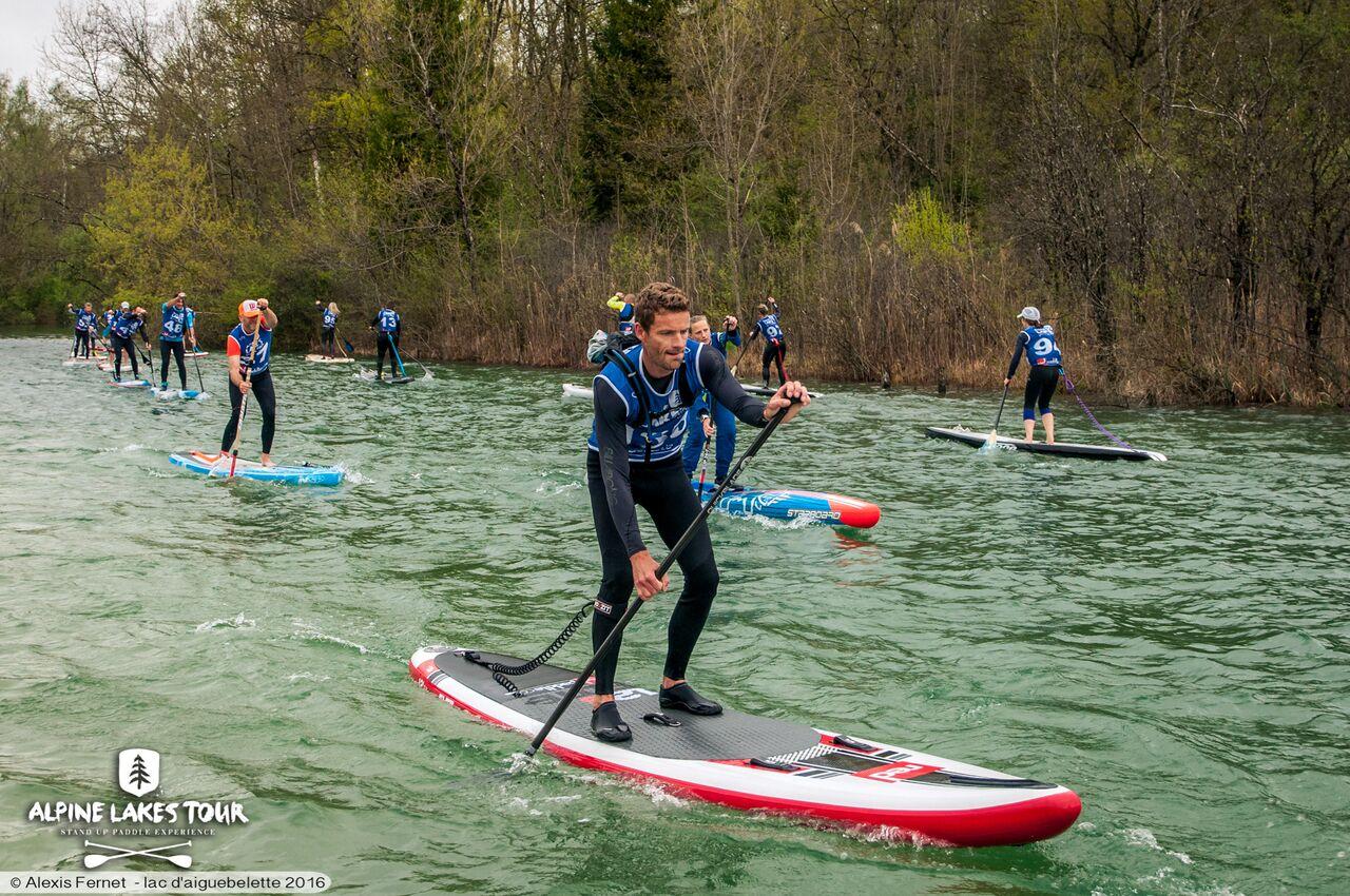 Flat race pluvieuse, flat race heureuse à l'Alpine Lakes Tour