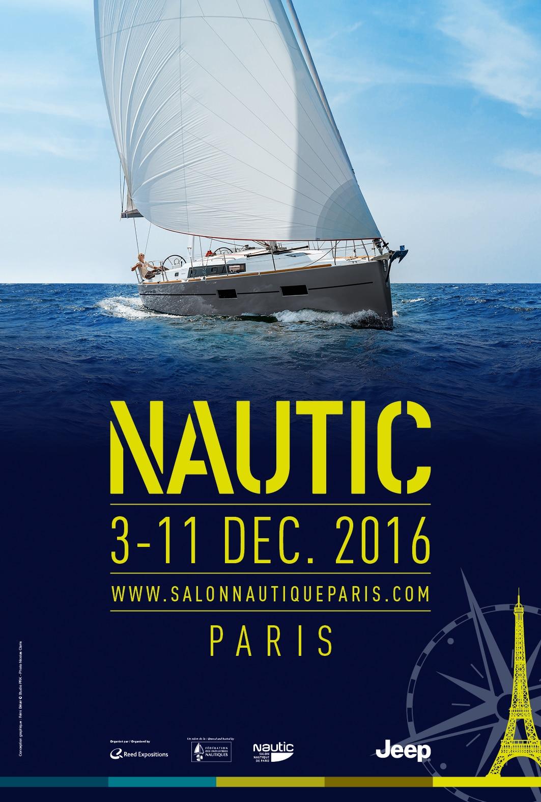 salon nautic affiche 2016 bateau 2