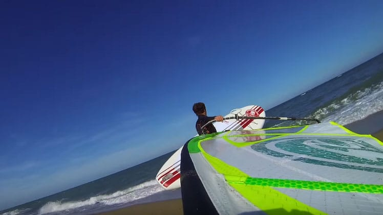 Stand up paddle Funbox'R Pro 10'6 mais aussi windsup