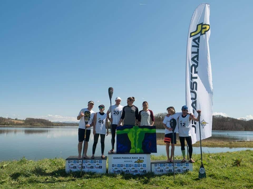 Gabas Paddle Race 2016, la course à l'heure d'été