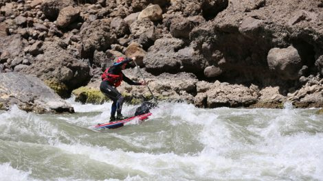 Descente de la source de l'Amazone en stand up paddle